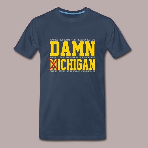 Damn Fich Colors Tee - Men's Premium T-Shirt