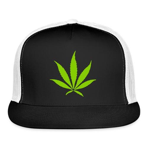 Weed Leaf - Trucker Cap