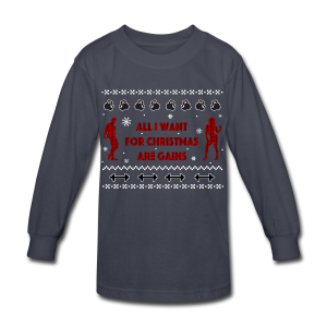 All I Want For Christmas Are Gain Ugly Sweater - Kids' Long Sleeve T-Shirt