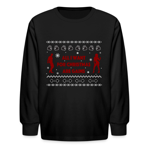 All I Want For Christmas Are Gains Ugly Sweater