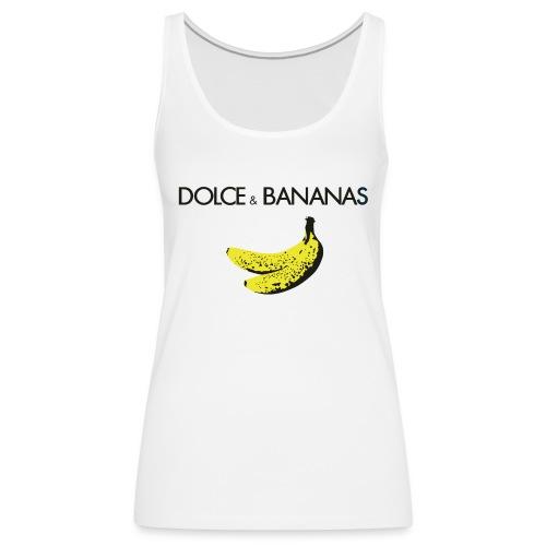 Dolce & Bananas Women Tank Top - Women's Premium Tank Top
