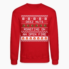 Roasting Deez Nuts Ugly Sweater
