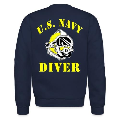 US Navy Diver Sweatshirt - Crewneck Sweatshirt