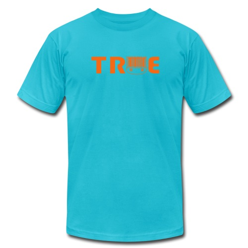 True Skills Classic Orange LogoTee - Men's  Jersey T-Shirt