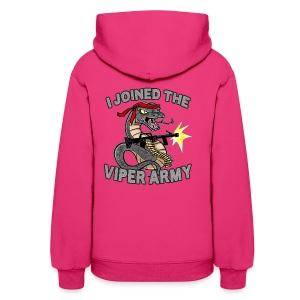 Viper Army Hoodie (2-Sided womens) - Women's Hoodie