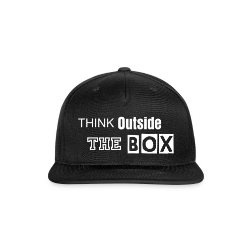 Think Outside the BOX snapback  - Snap-back Baseball Cap