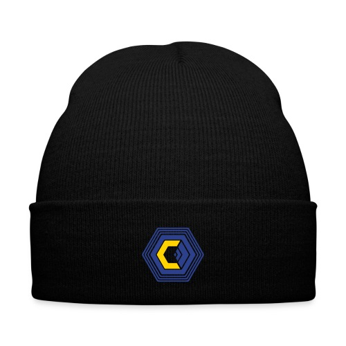 The Corporation Knit Cap - Knit Cap with Cuff Print