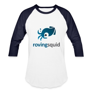Roving Squid Men's Logo Long Sleeve Shirt - Baseball T-Shirt