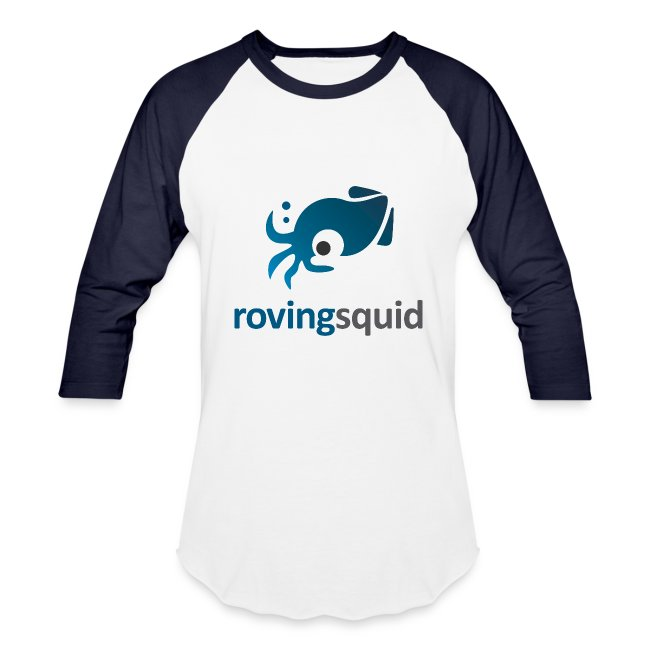 Roving Squid Men's Logo Long Sleeve Shirt