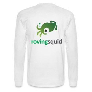 Roving Squid Men's Long Sleeve Logo Sweatshirt  - Men's Long Sleeve T-Shirt