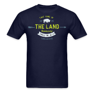 T-Shirts ~ Men's T-Shirt ~ Take Care of the Land