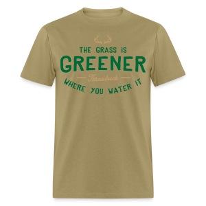 Grass Is Greener - Men's T-Shirt