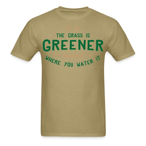 Grass Is Greener - Men's T-Shirt