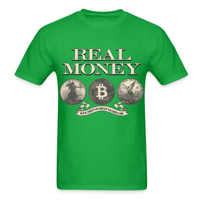 Real Money men's tee