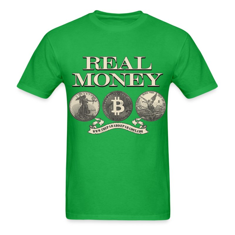 Real Money men's tee - Men's T-Shirt