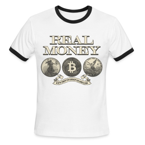 Real Money men's ringer tee - Men's Ringer T-Shirt