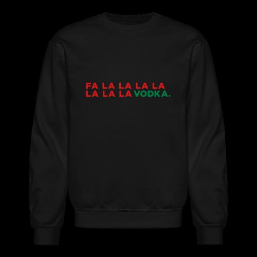 Vodka Christmas Song - Crewneck Sweatshirt