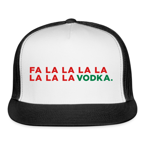 Vodka Christmas Song - Trucker Cap
