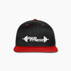 Snob Fitness Plates baseball snap back