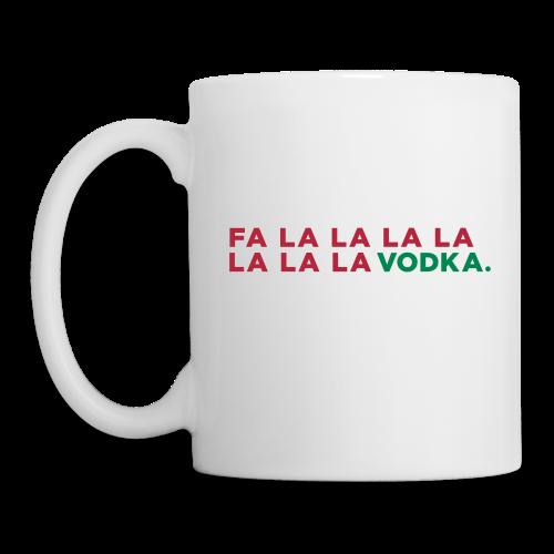 Vodka Christmas Song - Coffee/Tea Mug