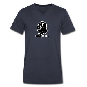 Darth Vader Thug Life - Men's V-Neck T-Shirt by Canvas