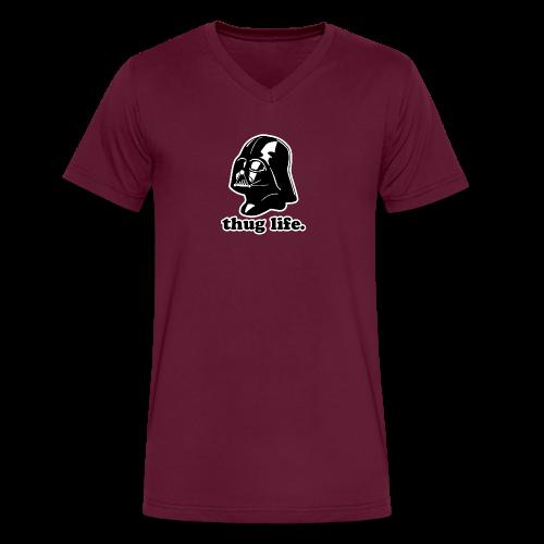 Darth Vader Thug Life - Men's V-Neck T-Shirt by Canvas