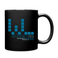 Mugs & Drinkware ~ Full Color Mug ~ WikiLeaks Supporter (incl $25.50 donation)