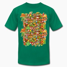 In Christmas Melt into the Crowd and Enjoy T-Shirts