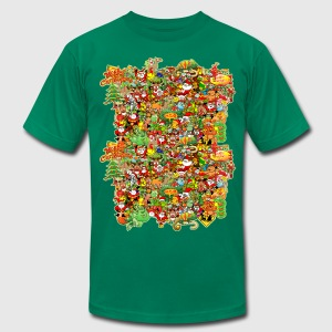 In Christmas Melt into the Crowd and Enjoy T-Shirts - Men's T-Shirt by American Apparel