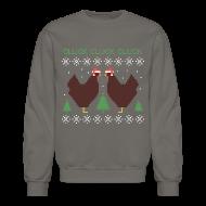 Long Sleeve Shirts ~ Crewneck Sweatshirt ~ Cluck cluck cluck