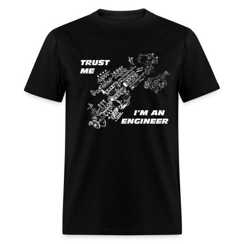 TRUST ME I'M AN ENGINEER 2 white - Men's T-Shirt