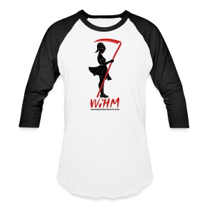 WiHM7 Men's 3/4 Sleeve Baseball Tee - Baseball T-Shirt