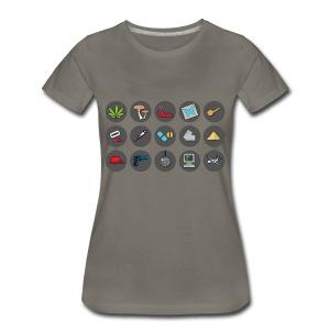 Cartel Mogul Women's Icon Shirt - Women's Premium T-Shirt