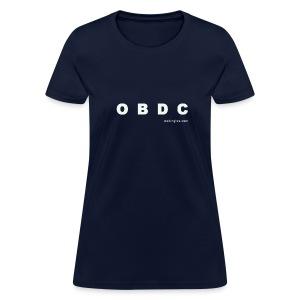 OBDC (letra blanca) - Women's T-Shirt