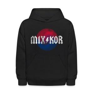MIX KOR ROK Kids Hoodie - Black  - Kids' Hoodie