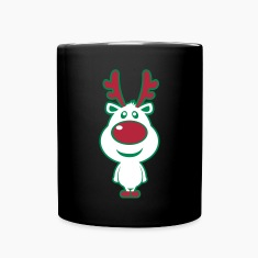 Cute Christmas Deer Mugs & Drinkware