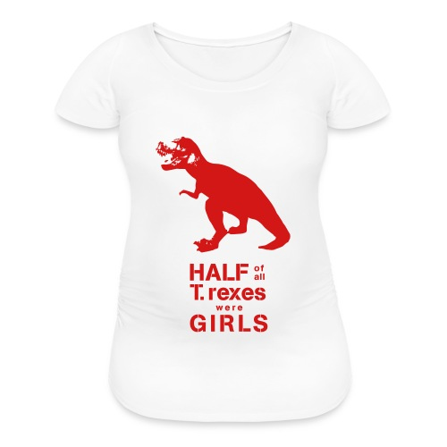 T.rex Maternity Tee - Women's Maternity T-Shirt