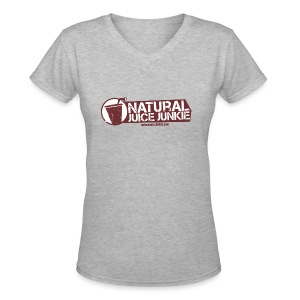 Womens V-Neck - Women's V-Neck T-Shirt