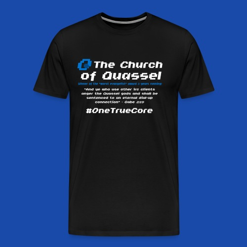 Church of Quassel - Men's Premium T-Shirt
