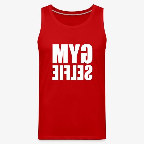Gym Selfie Funny - Men's Premium Tank