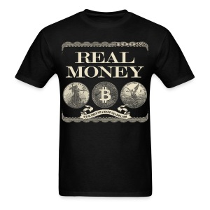 Real Money men's tee full border - Men's T-Shirt