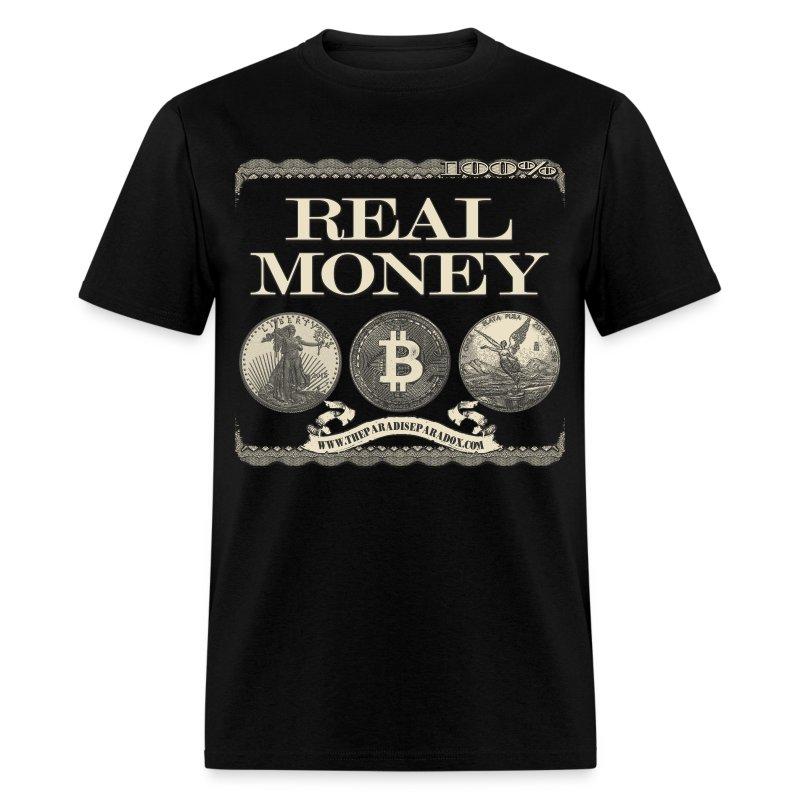 Real Money men's tee full border - Men's T-Shirt
