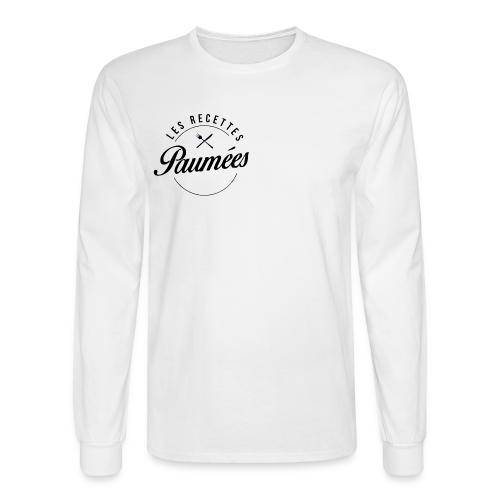 Chandail à manches longues blanc - Homme - Men's Long Sleeve T-Shirt