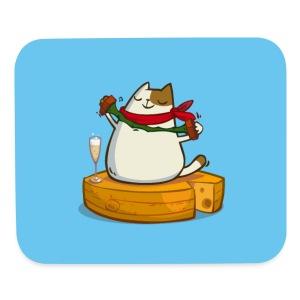 Pariscat — Friday Cat №30 - Mouse pad Horizontal
