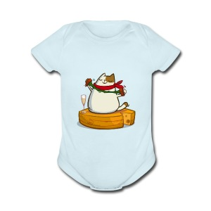 Pariscat — Friday Cat №30 - Short Sleeve Baby Bodysuit