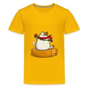 Pariscat — Friday Cat №30 - Kids' Premium T-Shirt