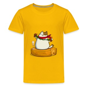 Pariscat — Friday Cat №30 - Kids' Premium T-Shirt