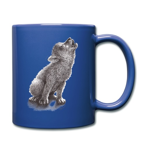Young Howling Wolf - Full Color Mug