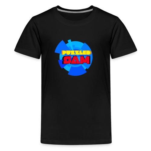 PuzzledSam Premium Kids Logo T-Shirt - Kids' Premium T-Shirt
