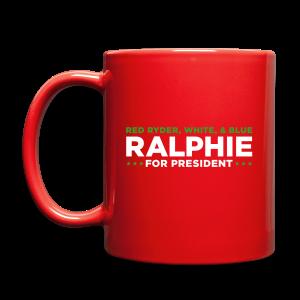 Ralphie for President - Full Color Mug
